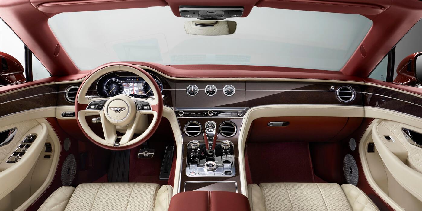 Interior of the 2020 Bentley Continental GTC