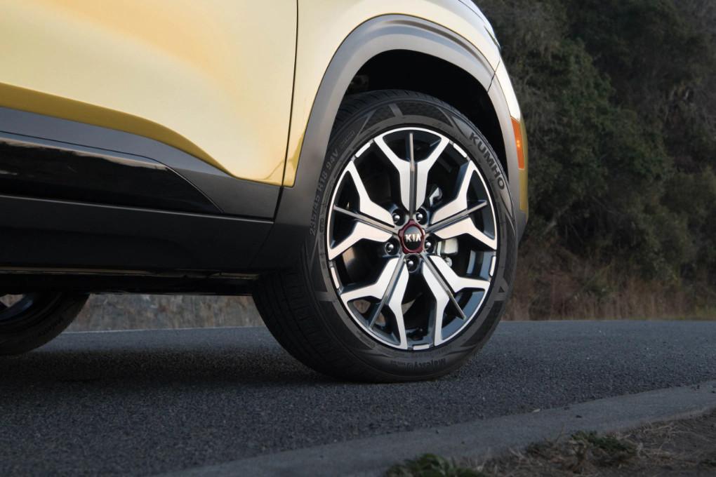 2021 Kia Seltos 18-inch Alloy Wheels