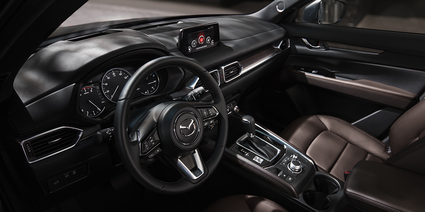 Interior of the 2020 MAZDA CX-5