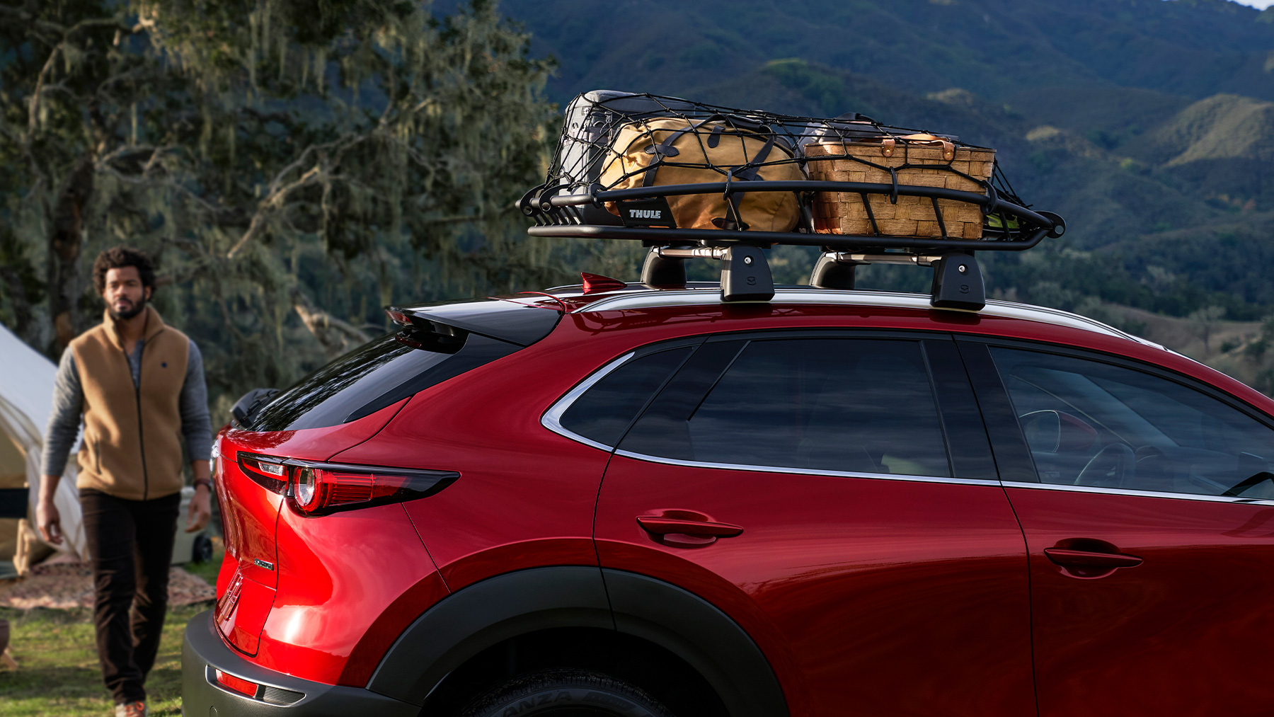 Available Roof Rails on the 2020 MAZDA CX-30