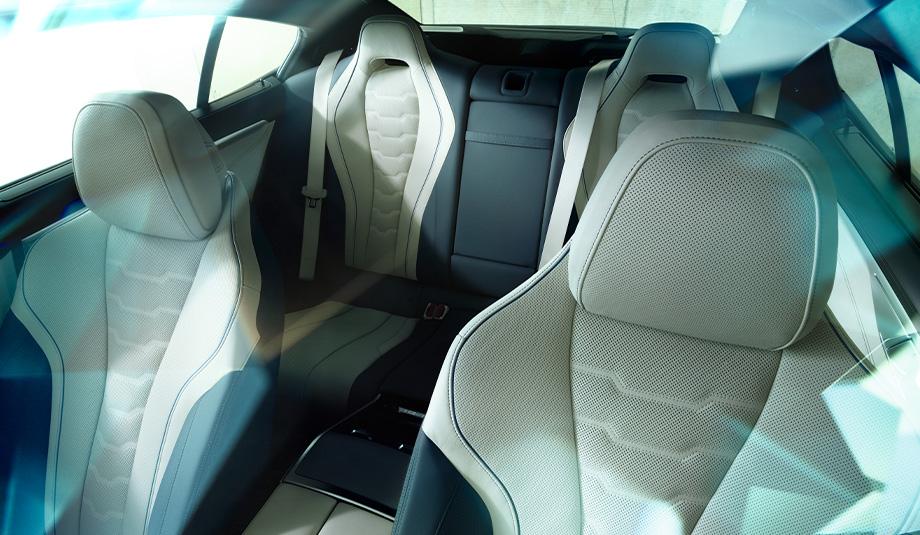 2020 BMW 8 Series Merino Leather Upholstery