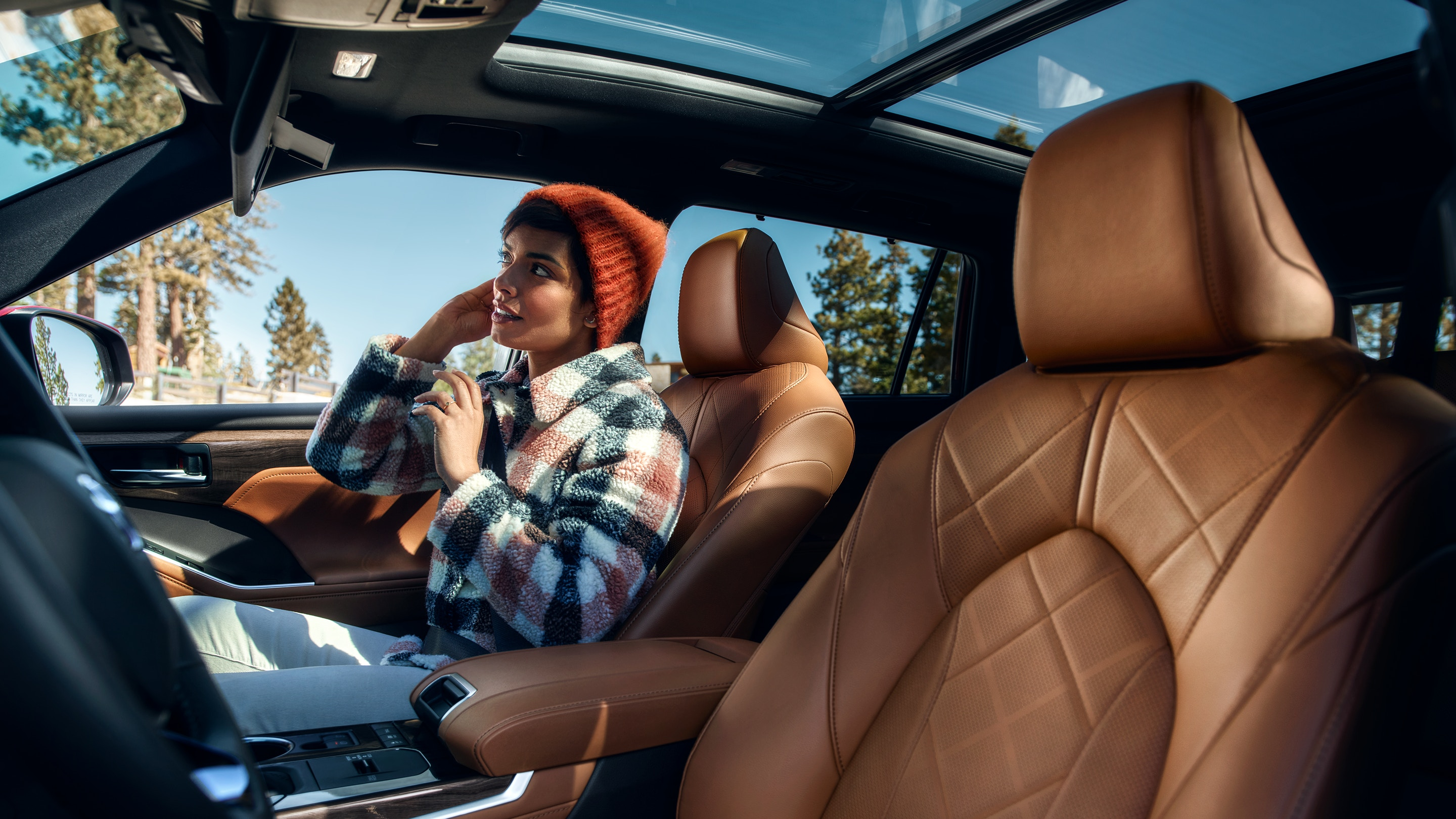 Luxurious Leather Upholstery in the 2020 Highlander
