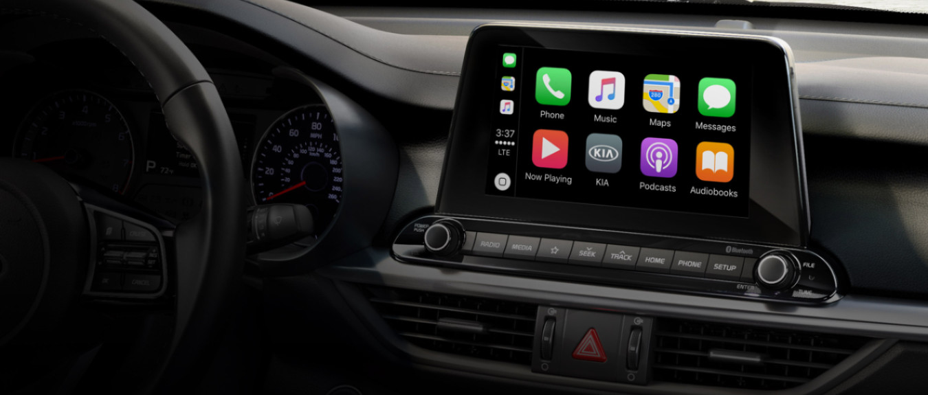 2020 Kia Forte Apple CarPlay®
