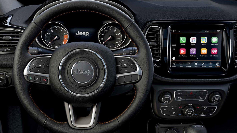 2020 Compass Steering Wheel