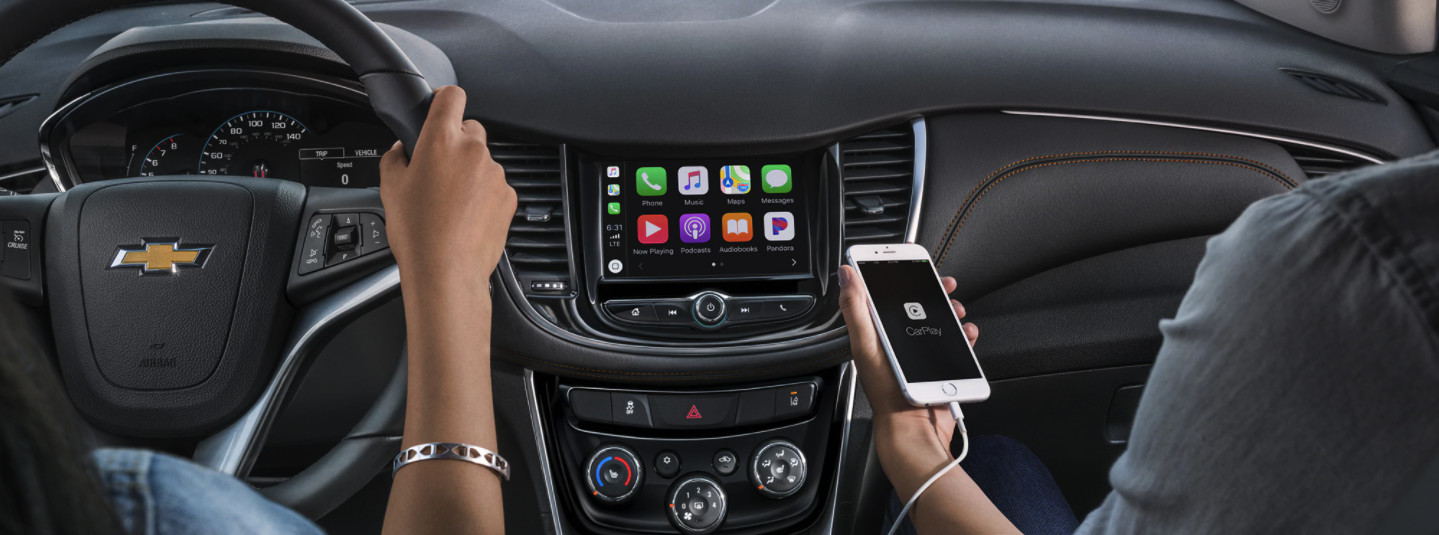 All Your Apps are a Tap Away in the 2020 Chevrolet Trax!