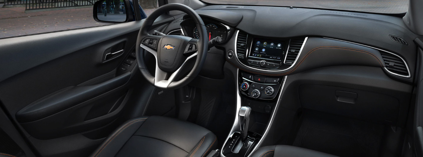 Interior of the 2020 Chevrolet Trax