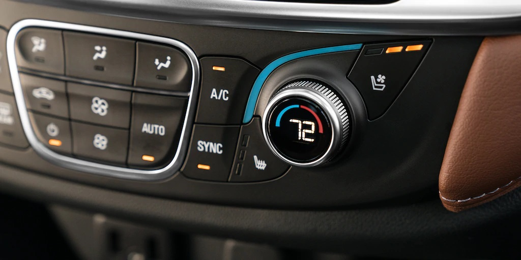 2020 Chevrolet Traverse Climate Control System