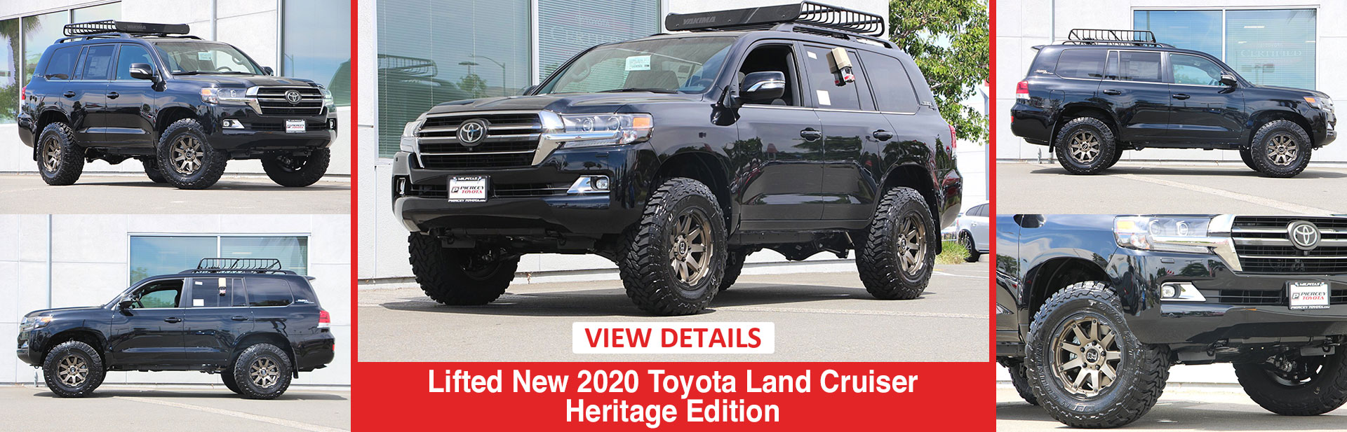 Lifted 2020 Toyota Land Cruiser Heritage
