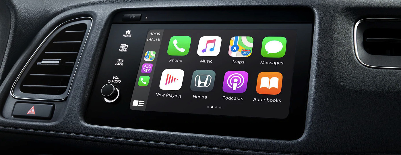 Infotainment Center of the 2020 Honda HR-V