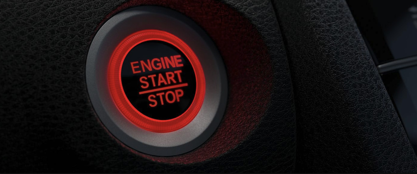 Turn the 2020 Honda Civic On with a Press!