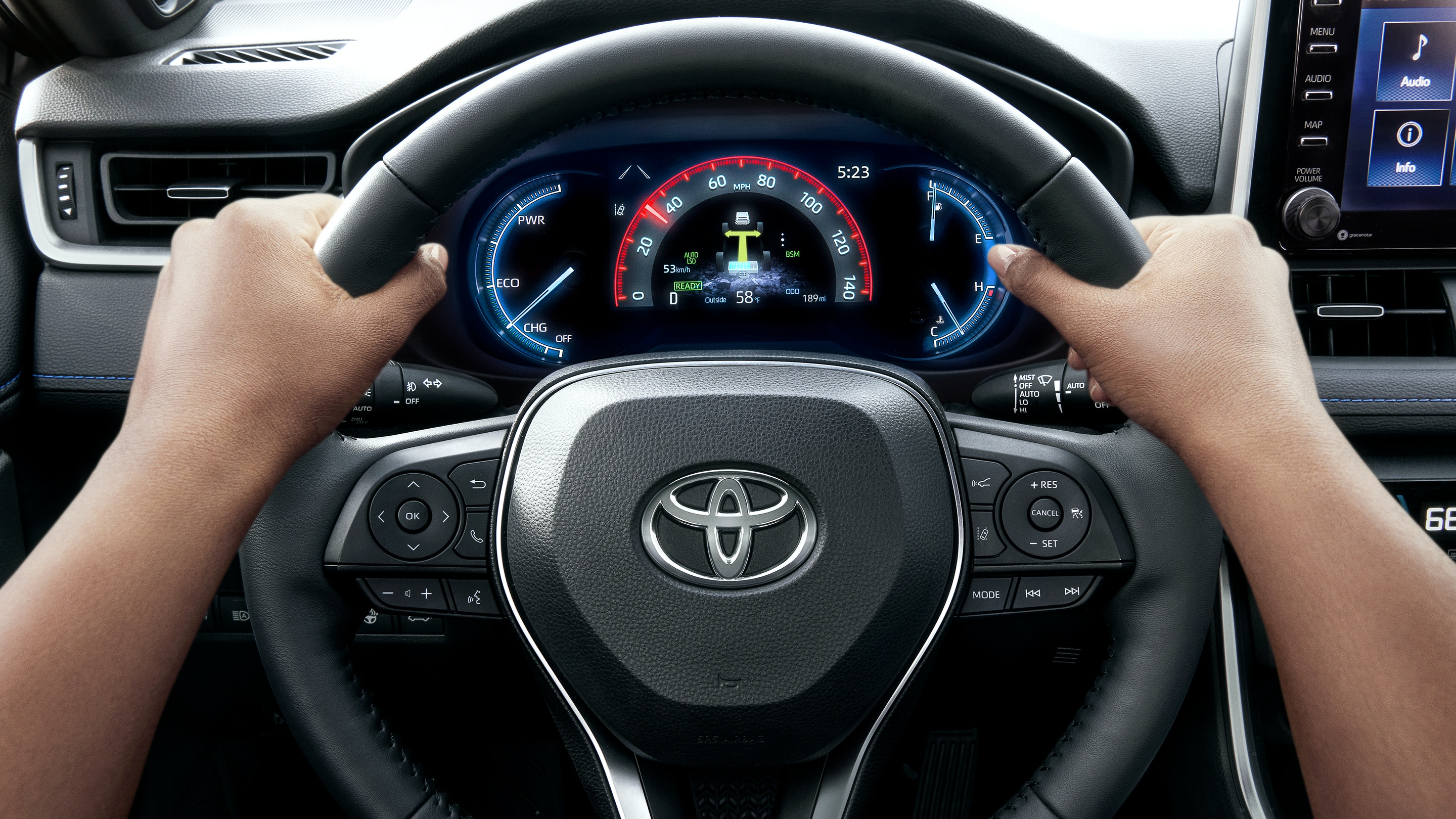 In the Driver's Seat of the 2020 Toyota RAV4
