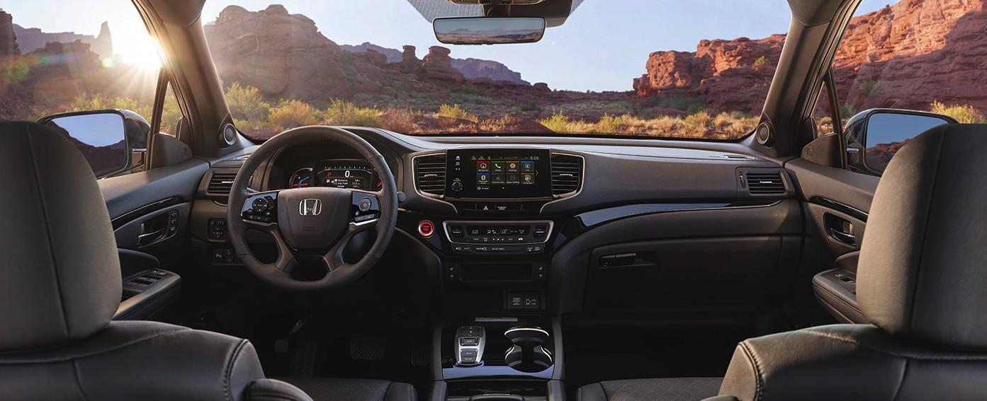 Interior of the 2020 Honda Passport