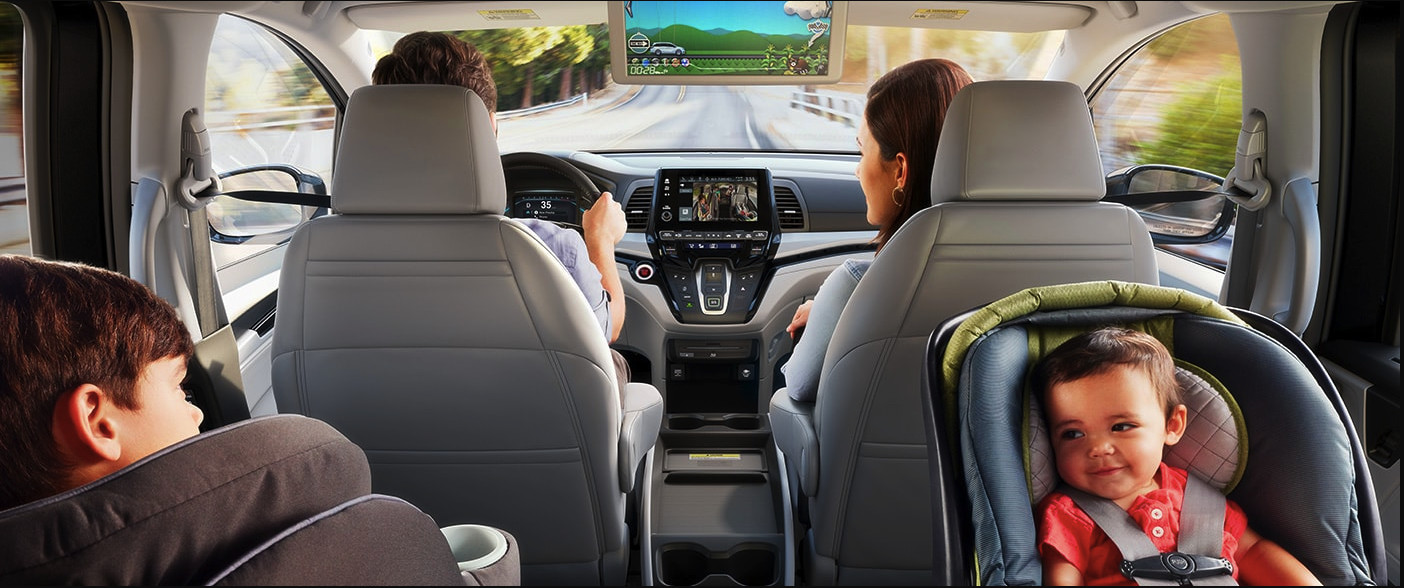 Interior of the 2020 Honda Odyssey