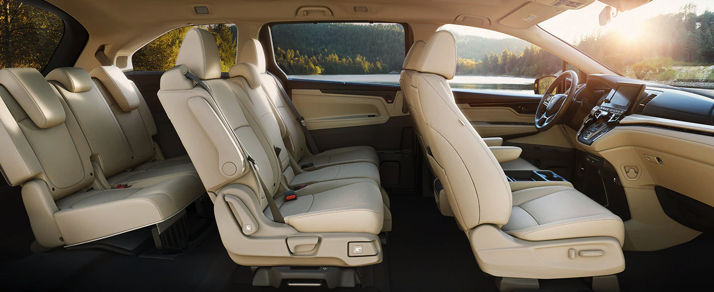 The Spacious Cabin of the 2020 Honda Odyssey