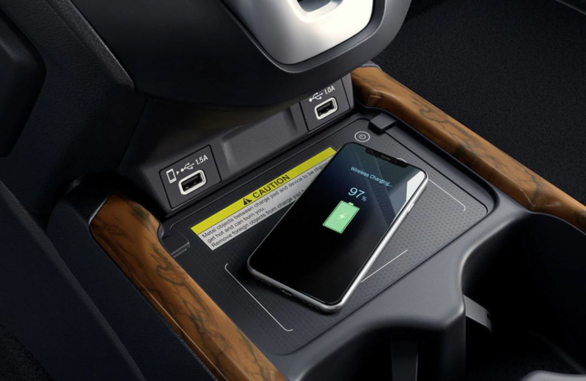 Wireless Charger in the 2020 CR-V
