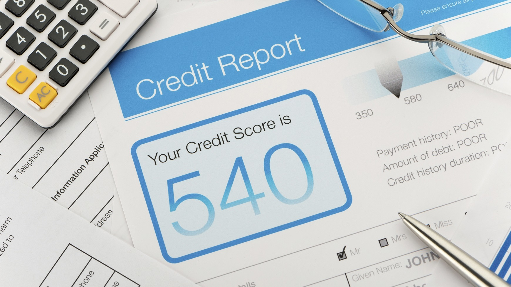 Don't Let Poor Credit Bring You Down!