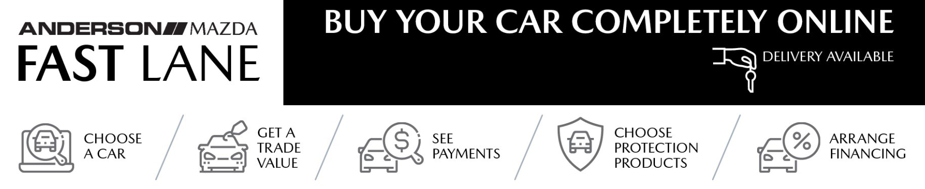 Anderson Mazda Fast Lane - Buy Your Car Online