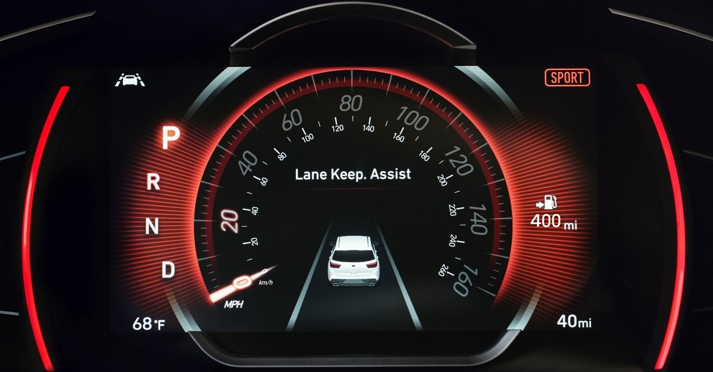 2020 Hyundai Santa Fe Information Display