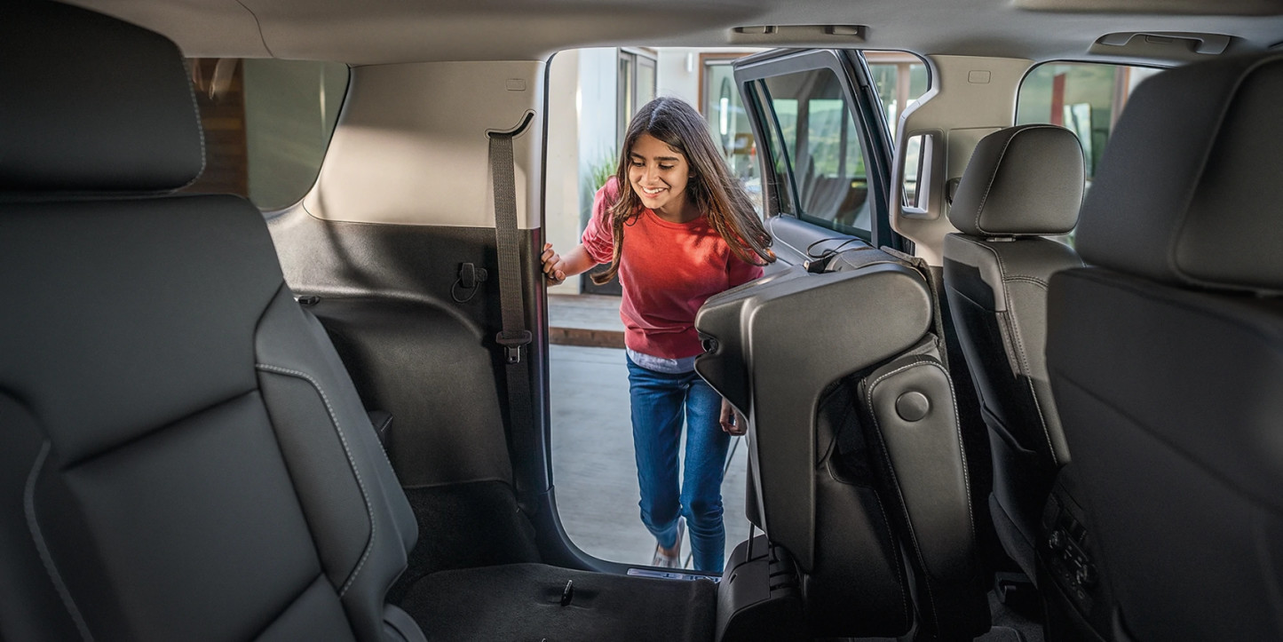 Versatile Rear Seats of the 2020 Suburban