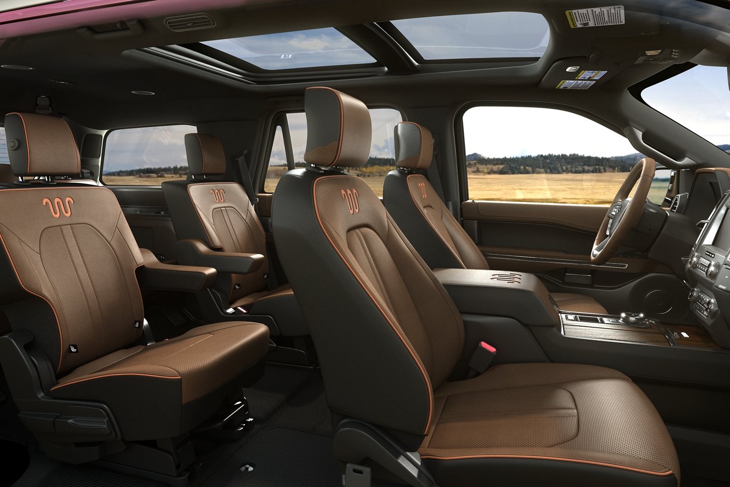 Spacious Seating in the 2020 Ford Expedition