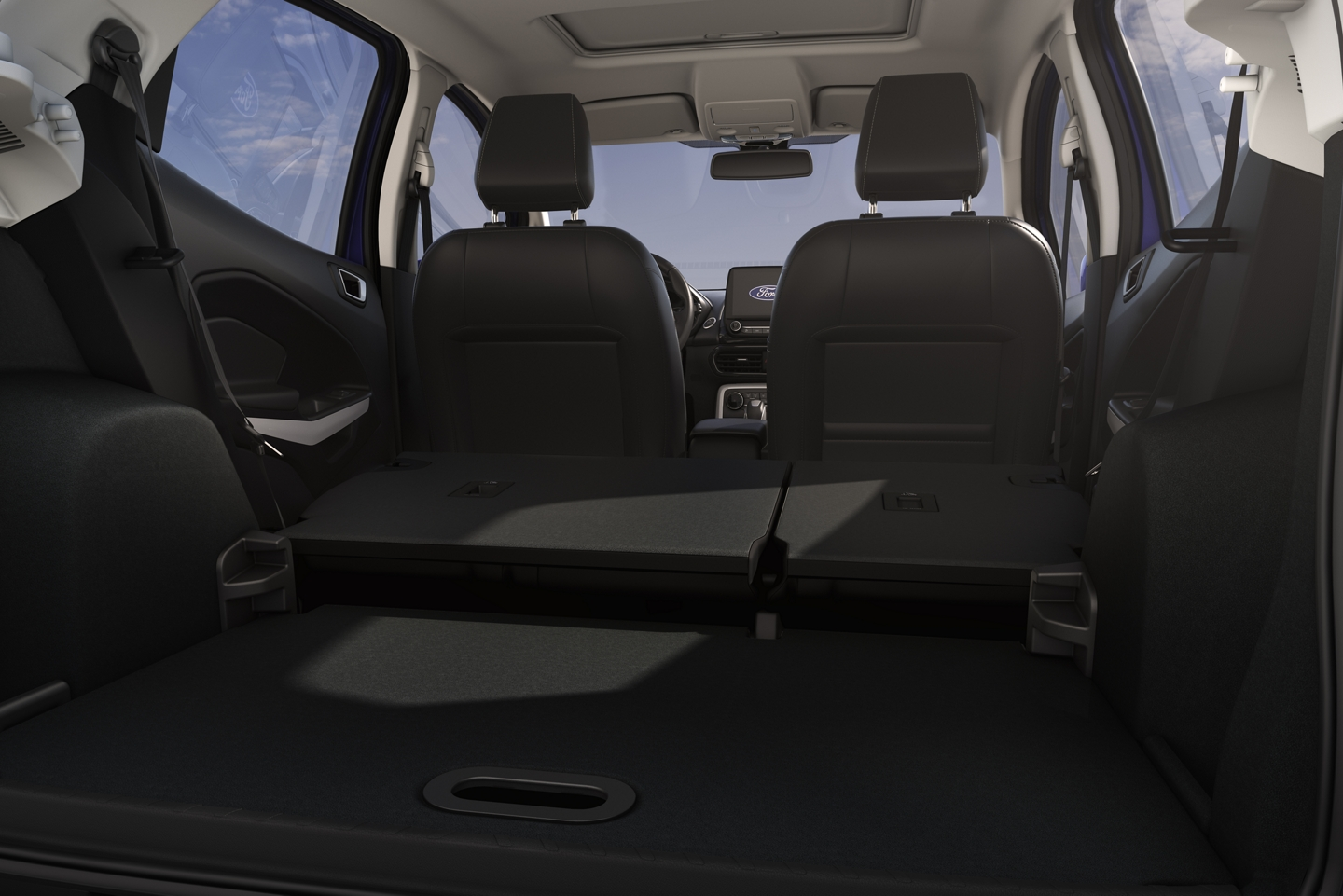 Ample Storage in the 2020 EcoSport