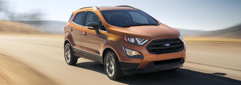 2020 Ford EcoSport vs 2020 Toyota C-HR near Dallas, TX
