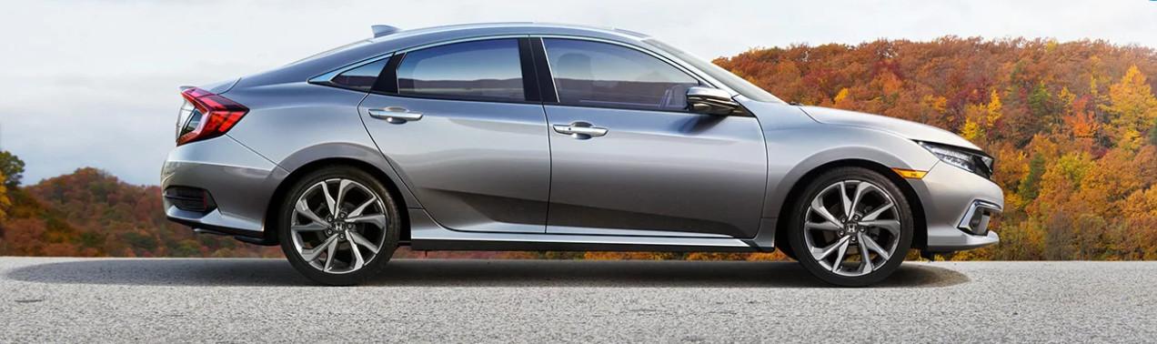2020 Honda Civic vs 2020 Subaru Impreza near Houston, TX