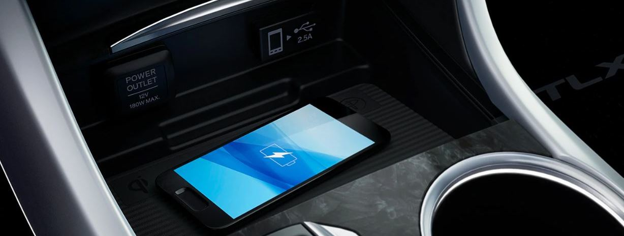 2020 Acura TLX Wireless Charger