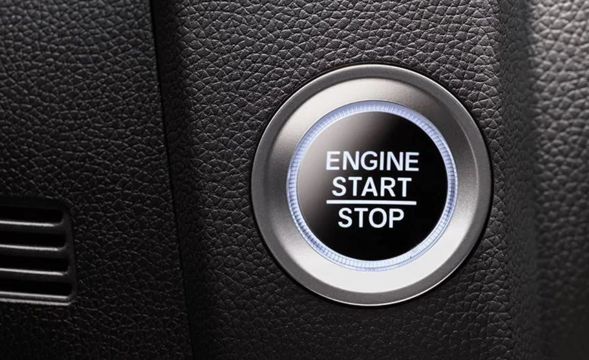 Push Button Start in the 2020 Fit