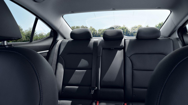 2020 Hyundai Elantra Available Black Leather Interior
