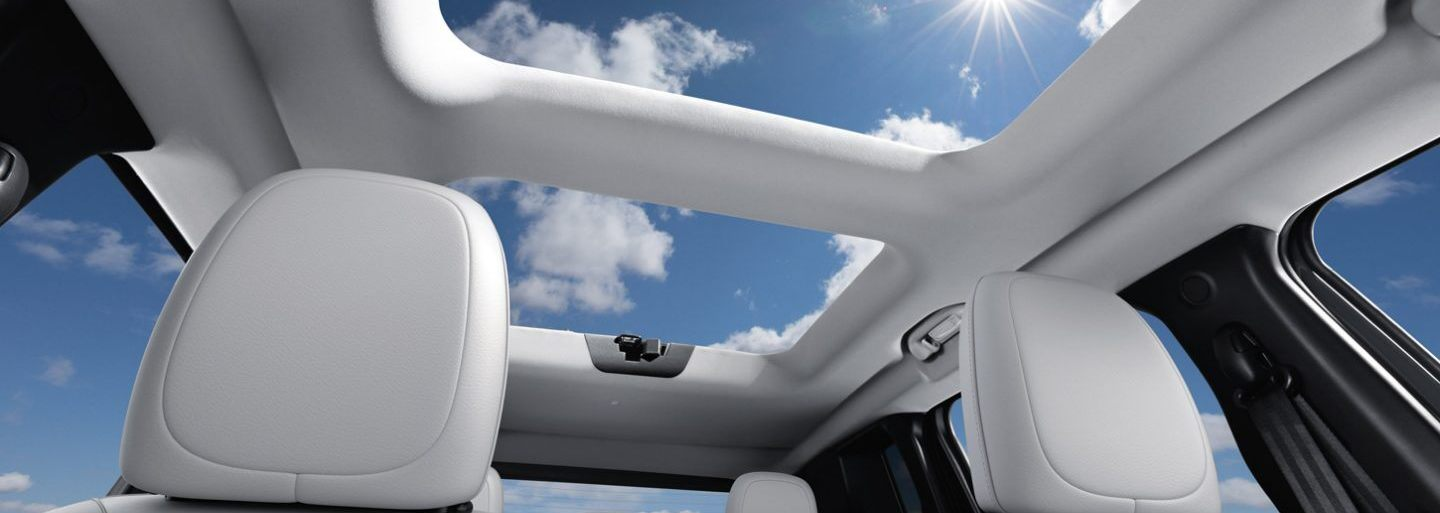 Panoramic Sunroof in the 2020 Renegade