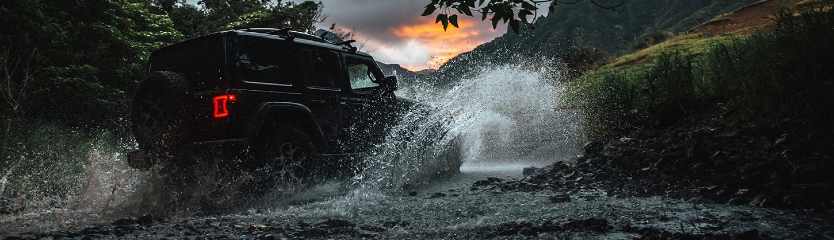 2020 Jeep Wrangler Water Fording