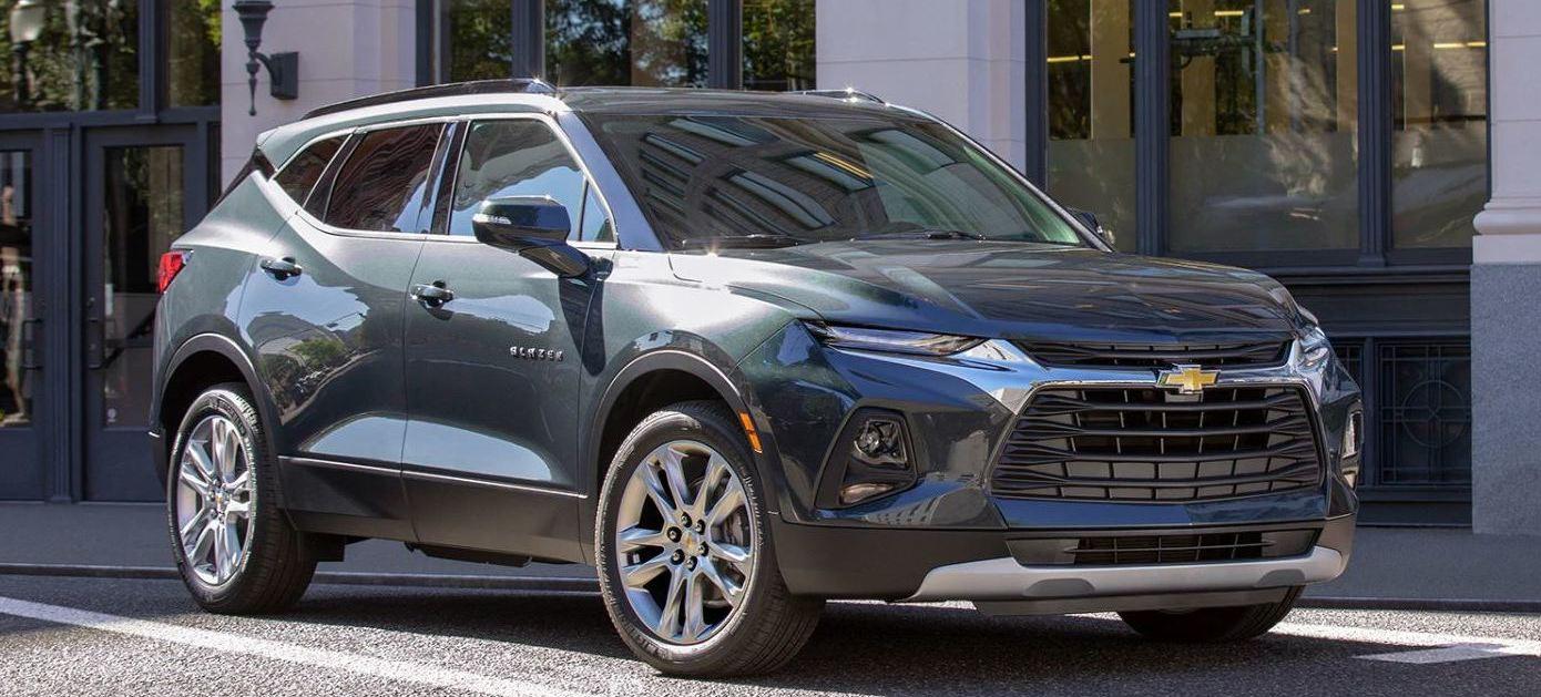 2020 Chevrolet Blazer Key Features near St. Johns, MI