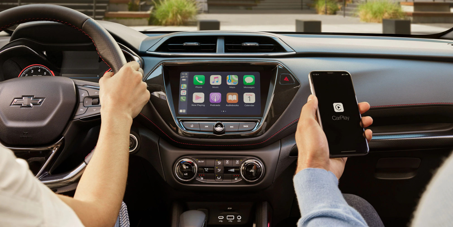 Apple CarPlay® in the 2021 Chevy Trailblazer