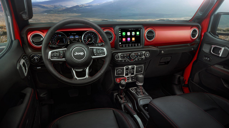 2020 Jeep Gladiator Cockpit