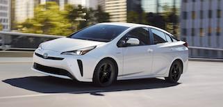 2020 Toyota Prius Trim Comparison