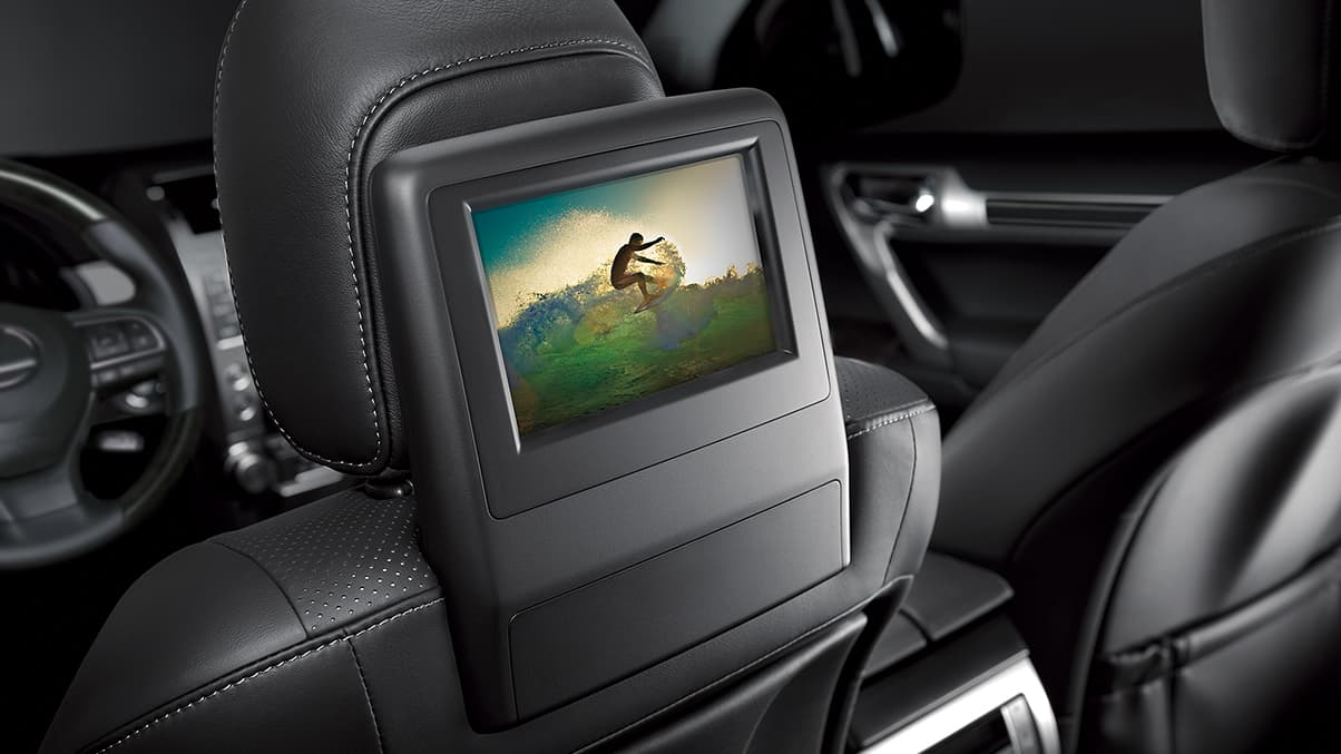 Rear-Seat Entertainment in the 2020 GX 460