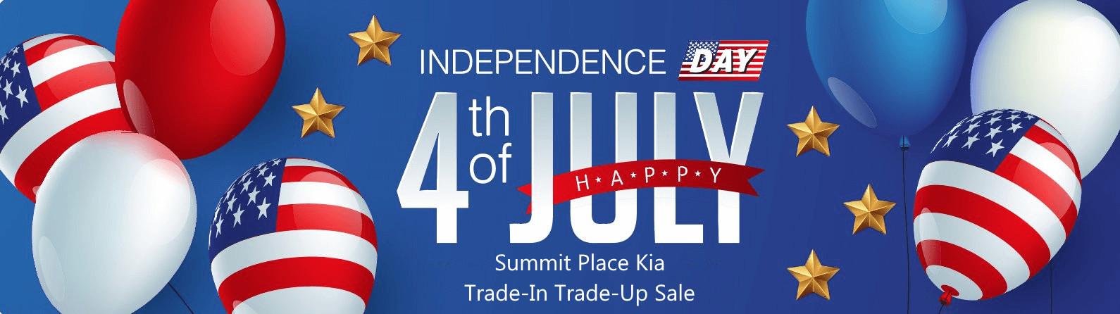 4th of July Kia Car Sale