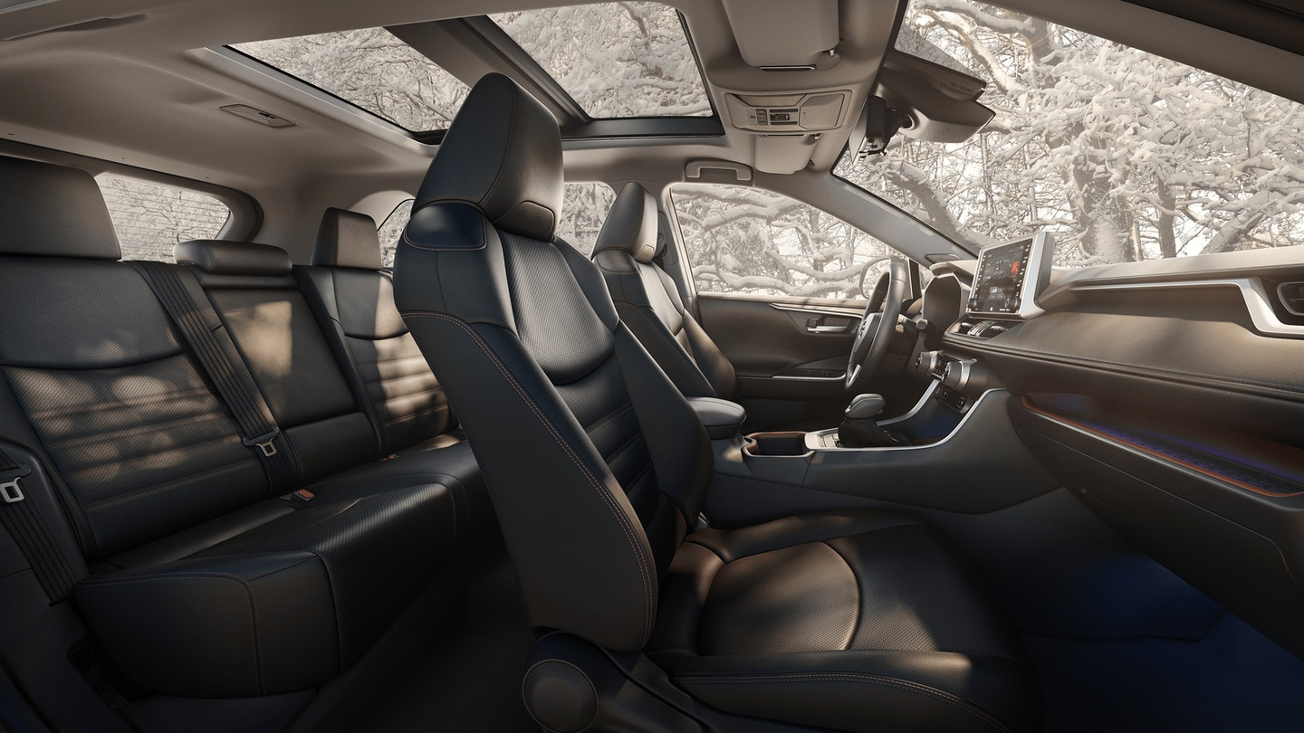 Secure Cabin of the 2020 RAV4
