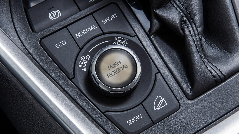 Multi-Terrain Select Dial in the 2020 RAV4