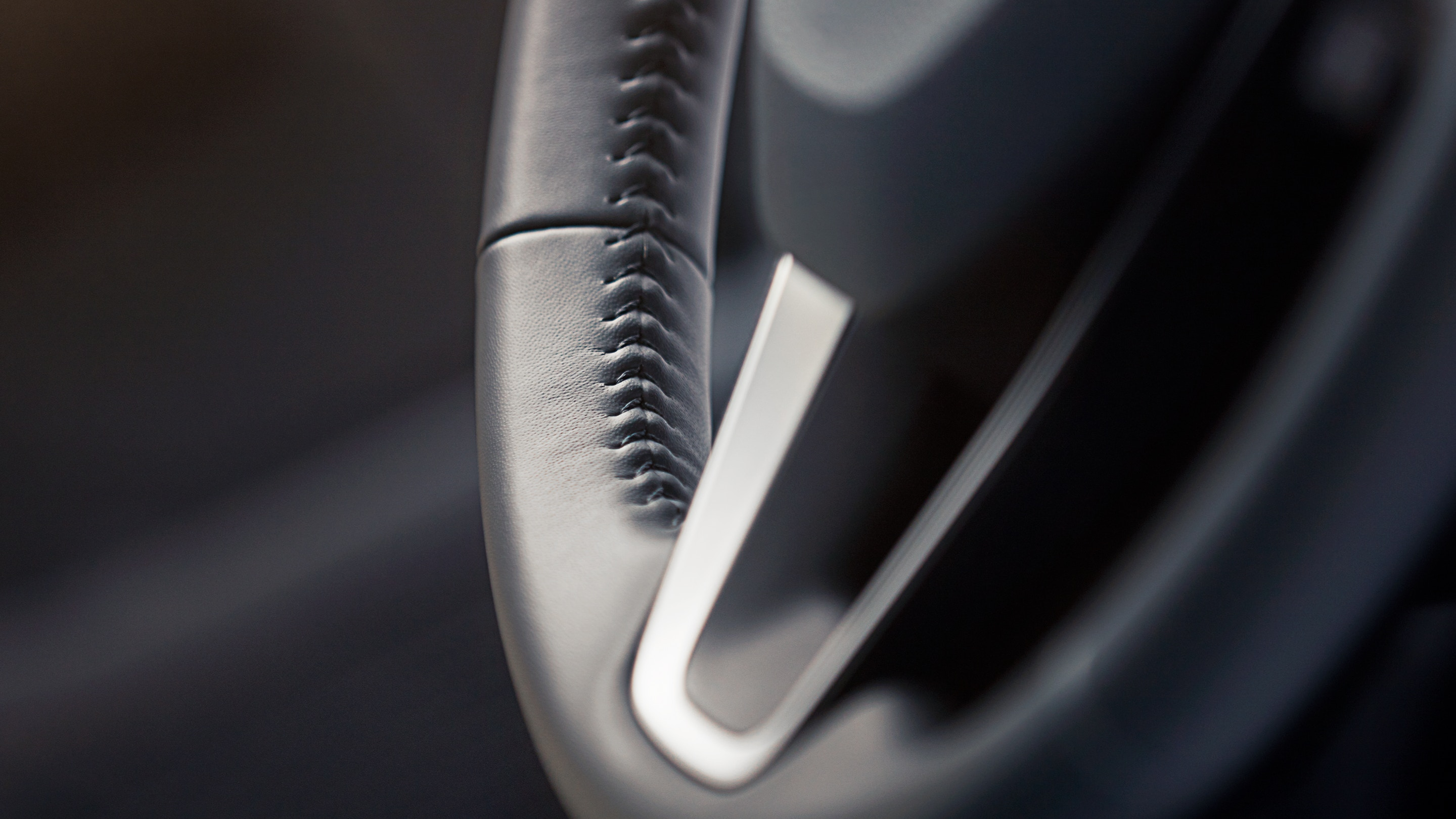 Leather-Wrapped Steering Wheel in the 2021 Corolla