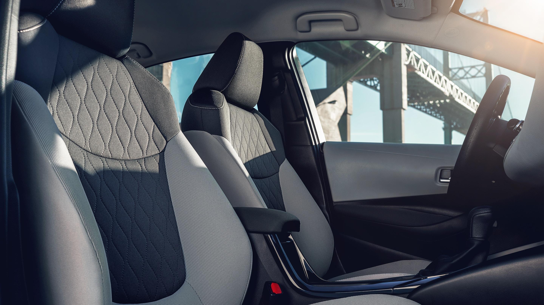 Sporty Seats in the 2021 Corolla