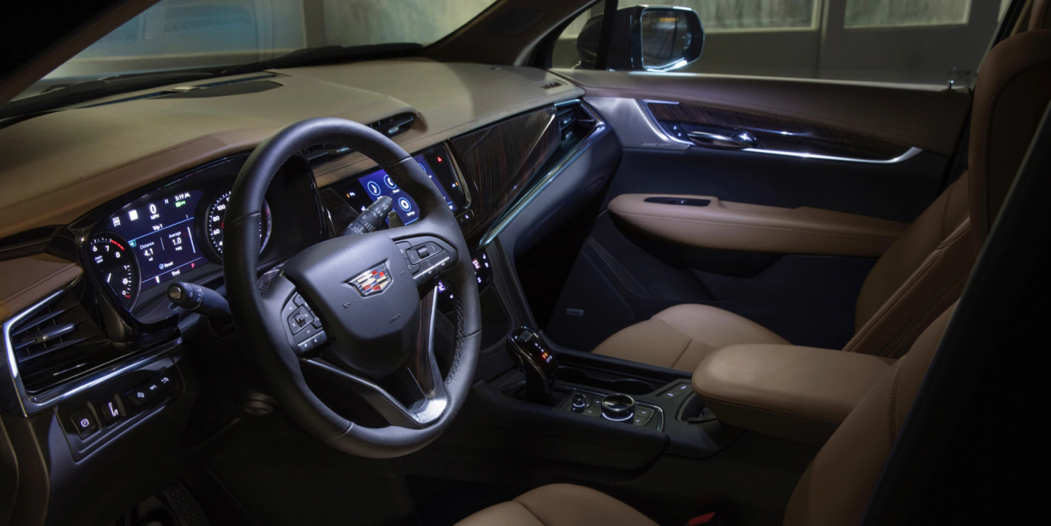 Spacious Seating in the 2020 XT6