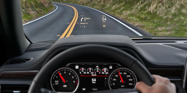 2021 Tahoe Head-Up Display