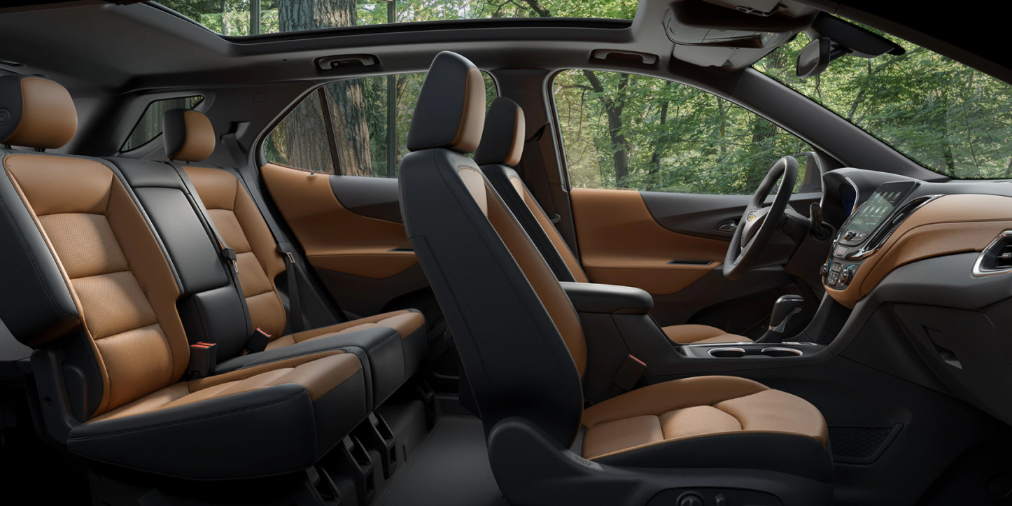 Accommodating Cabin of the 2020 Equinox