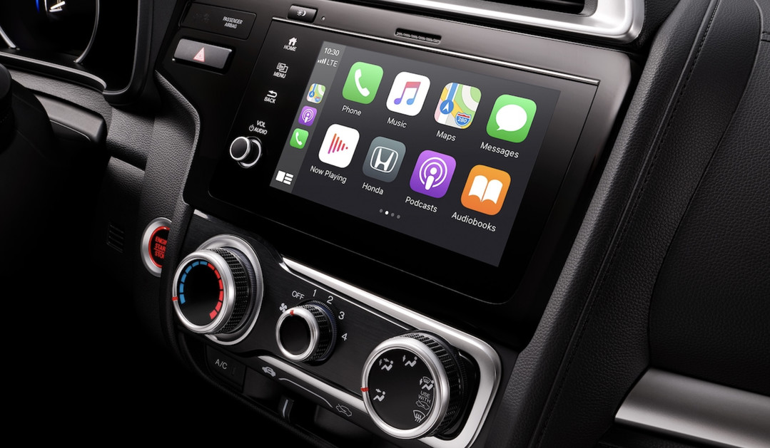 Infotainment in the 2020 Fit