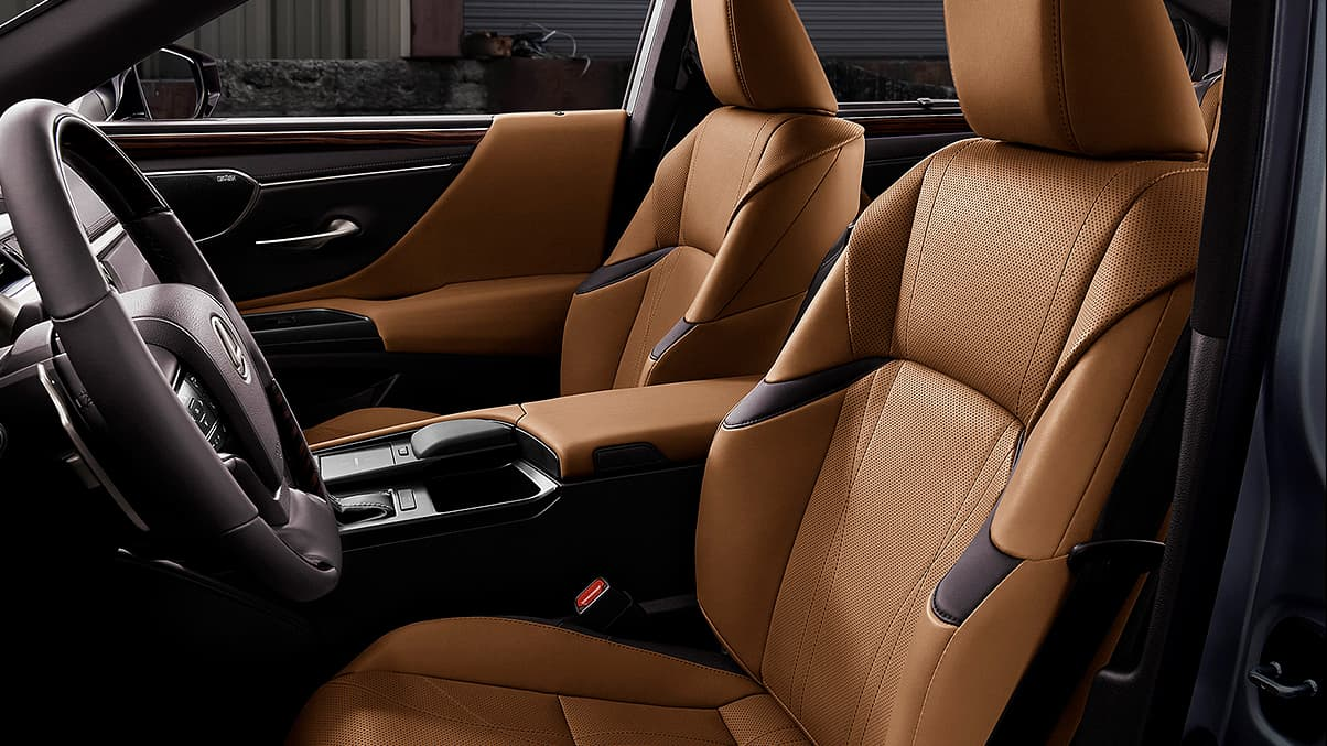 Seating in the 2020 Lexus ES 300h
