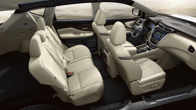 Spacious Seating in the 2020 Murano
