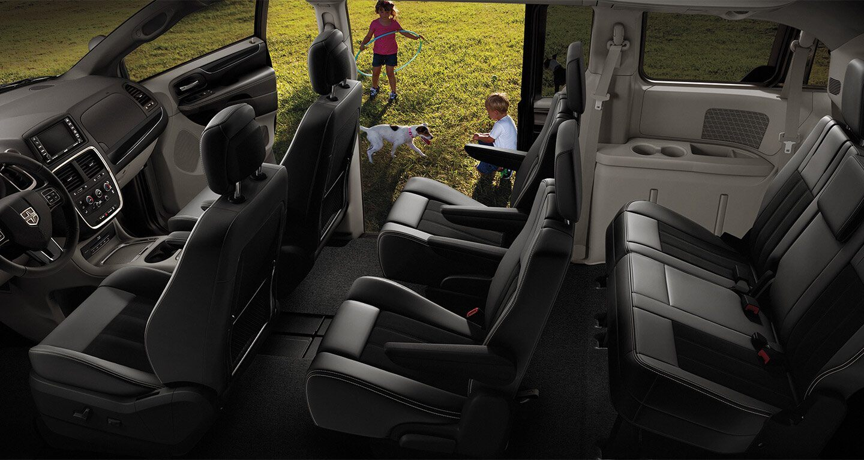 Secure Cabin of the 2020 Dodge Grand Caravan