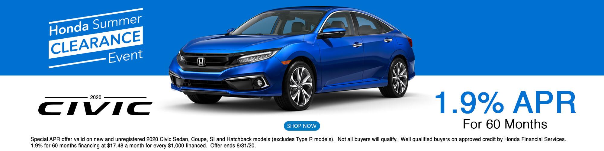2020 Honda Civic APR Special
